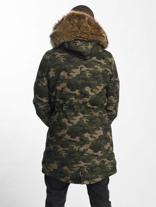 Sixth June Parka Ultra Oversized camouflage