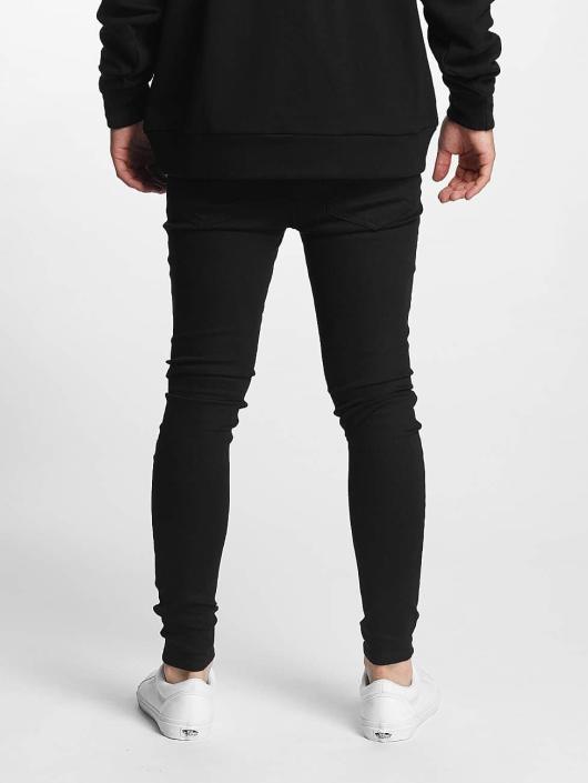 Sixth June Skinny Jeans Basic Super schwarz