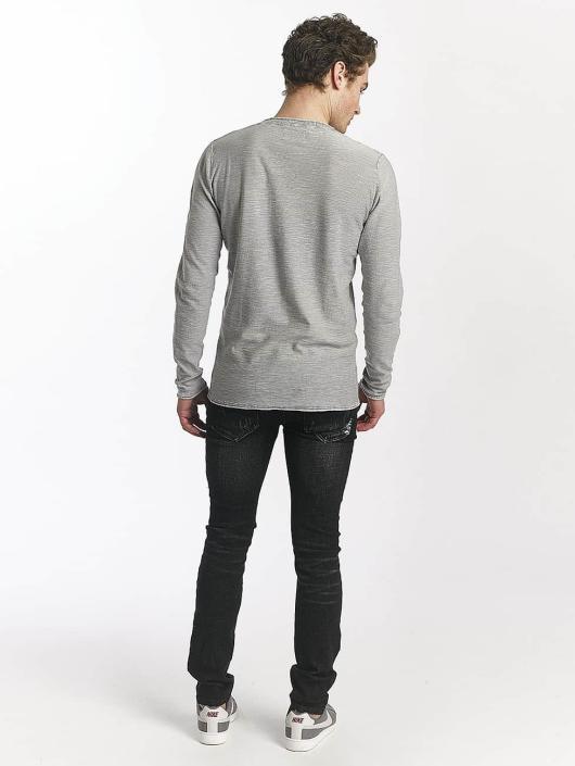 Sixth June Skinny Jeans Destroyed schwarz