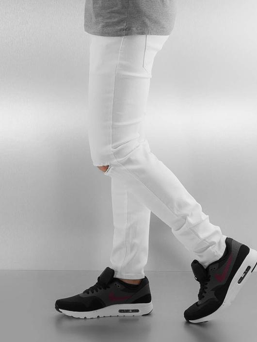 Sixth June Skinny Jeans Opened On Knee white