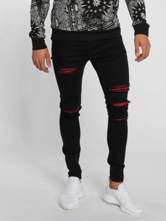 Sixth June Slim Fit Jeans Hudson èierna