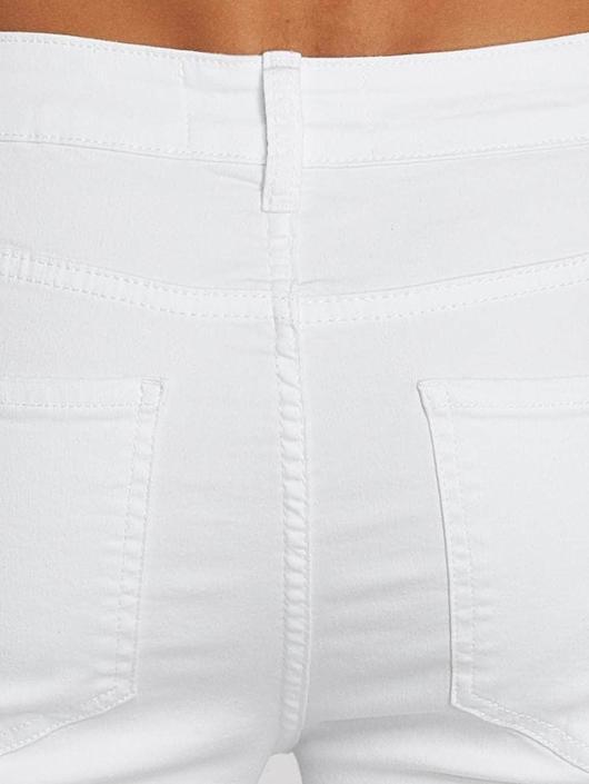 Sixth June Slim Fit Jeans Hudson biela
