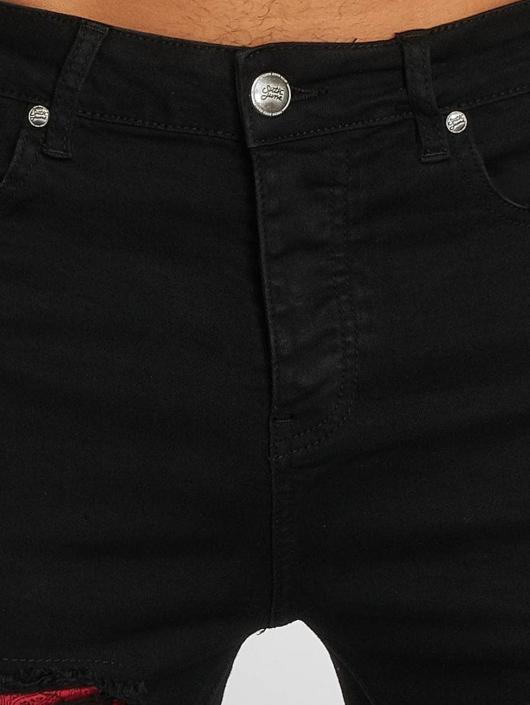 Sixth June Slim Fit Jeans Hudson schwarz