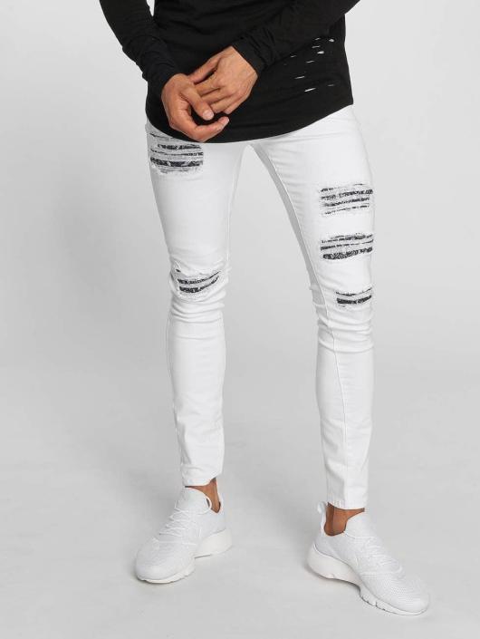 Sixth June Slim Fit Jeans Hudson white