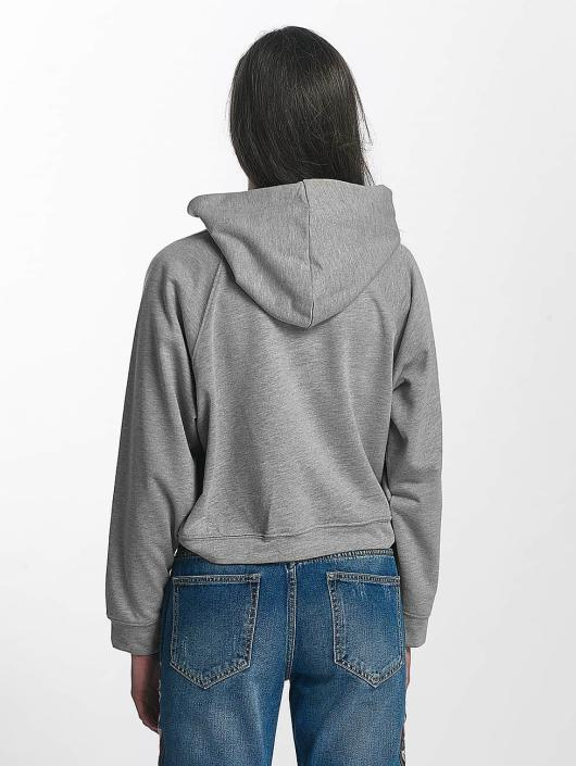 Sixth June Sweat capuche Cropped gris