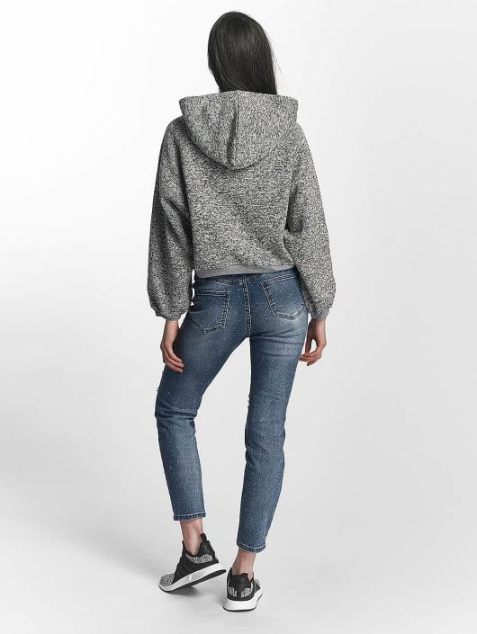 Sixth June Sweat capuche Knit Soft gris