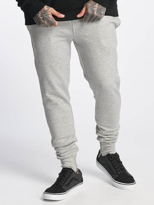 Sixth June Sweat Pant Ankle Zipper gray