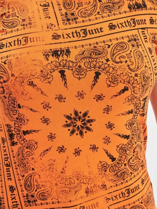 Sixth June T-paidat Emilia oranssi