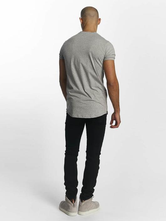 Sixth June T-Shirt Skinny Round Bottom gray