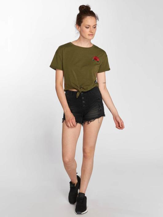 Luisa Kaki shirt Sixth T June Femme 518491 trshCdQ