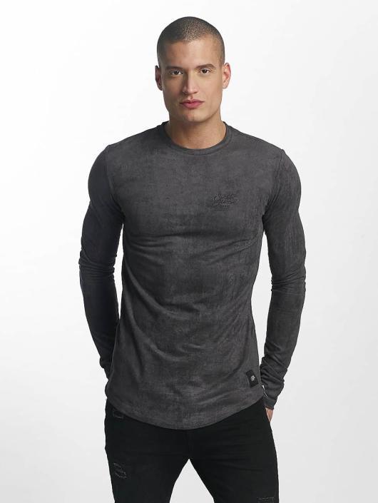 Sixth June T-Shirt manches longues Skinny Basic bleu