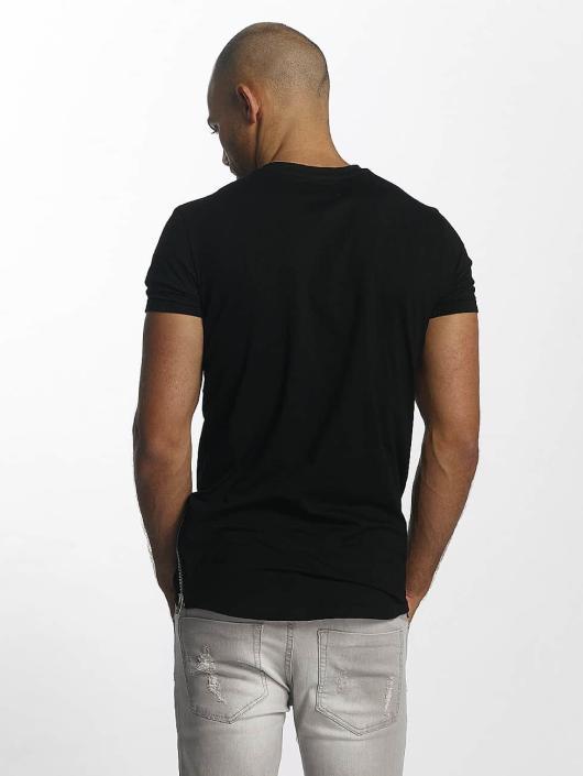 Sixth June T-Shirt Skinny Round Bottom noir