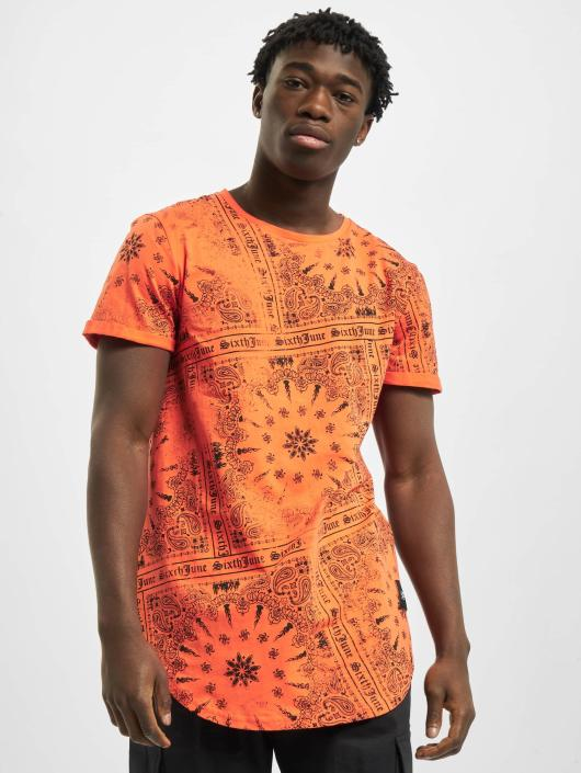Sixth June t-shirt Myron oranje