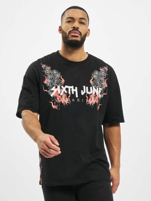 Sixth June T-Shirt Print schwarz
