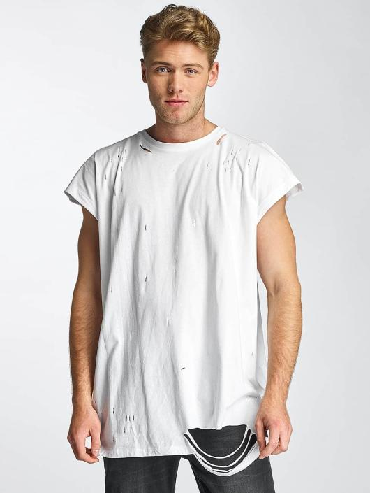 Sixth June T-Shirt Destroyed Muscle white