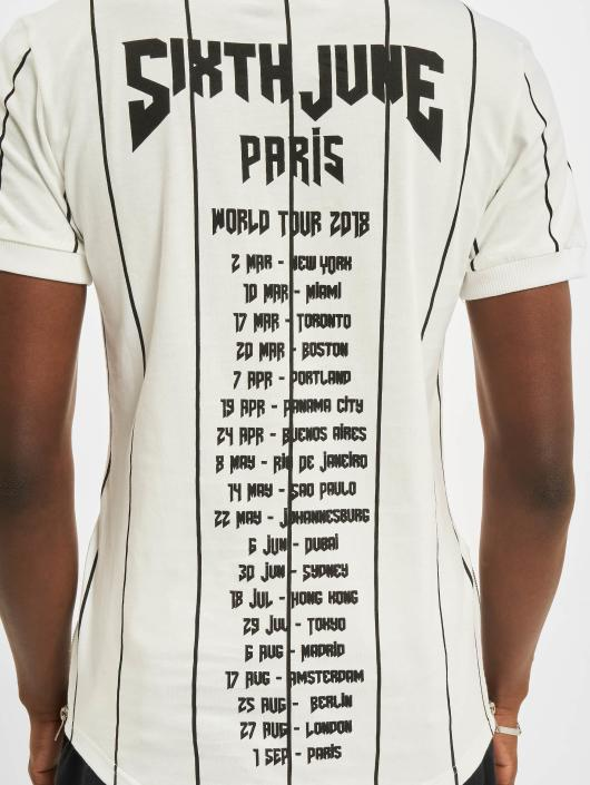 Sixth June T-Shirt Lines white