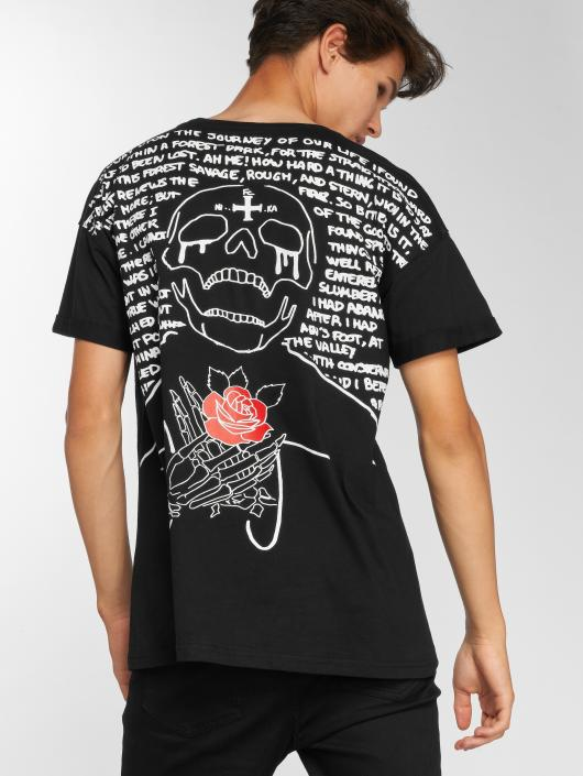 Sixth June T-Shirty Short czarny