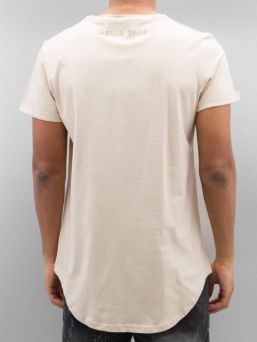 Sixth June T-skjorter Curved Gothic beige
