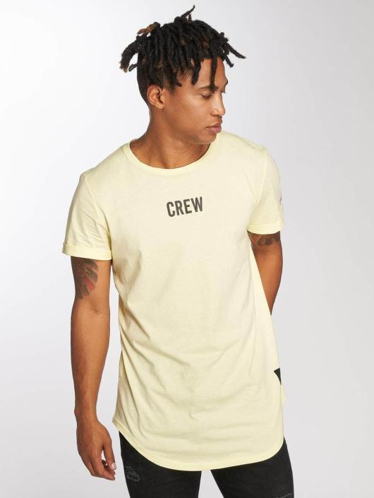 Sixth June T-skjorter Crew gul
