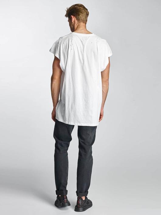Sixth June T-skjorter Destroyed Muscle hvit