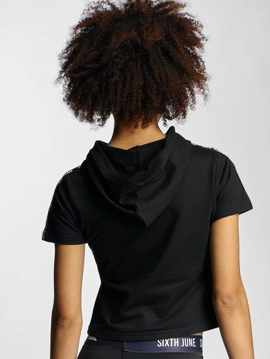 Sixth June T-skjorter Hooded svart