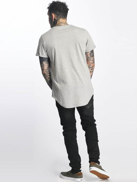 Sixth June Tall Tees Rounded Bottom grijs