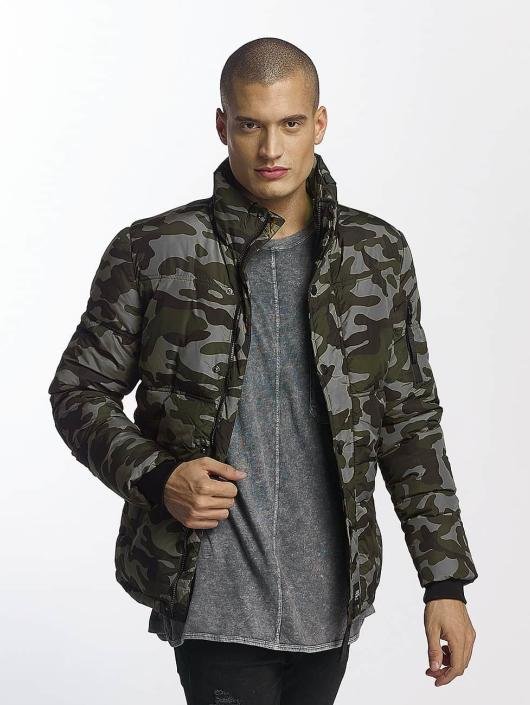 Sixth June Übergangsjacke Classic Fit Down camouflage