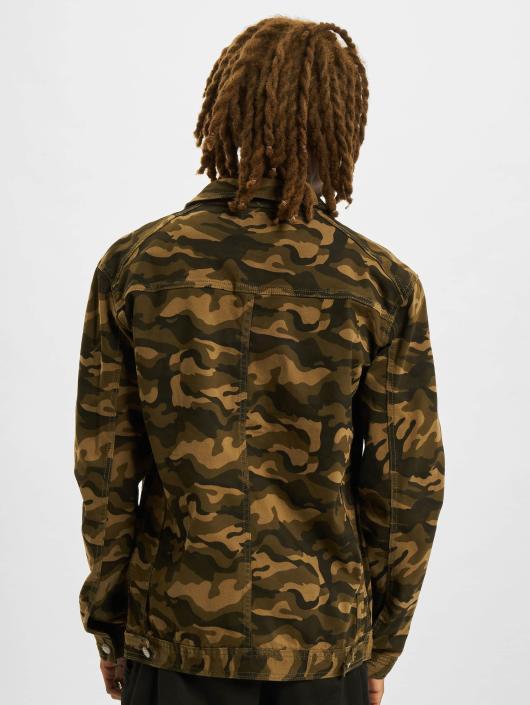 Sixth June Veste Jean Hokkaidō camouflage