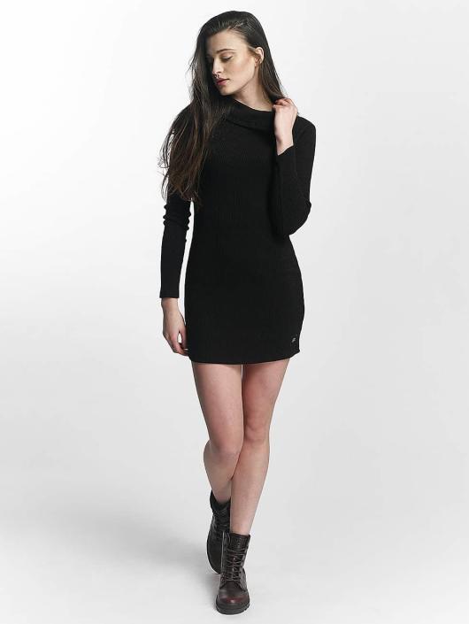 Sixth June Vestido Knit Winter negro