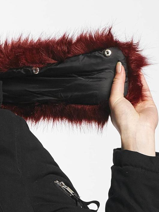 Sixth June Vinterjakke Oversize With Fake Fur Hood Classic svart