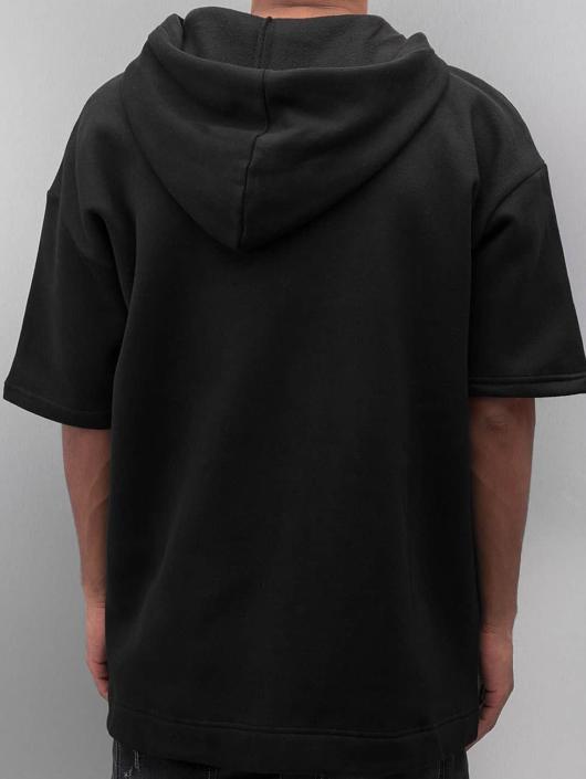 Sixth June Zip Hoodie Oversized 3/4 black