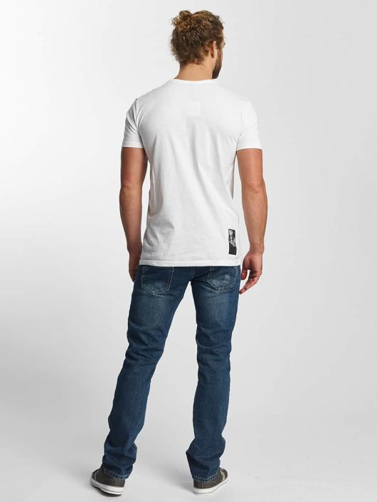 Sky Rebel Camiseta Lean blanco