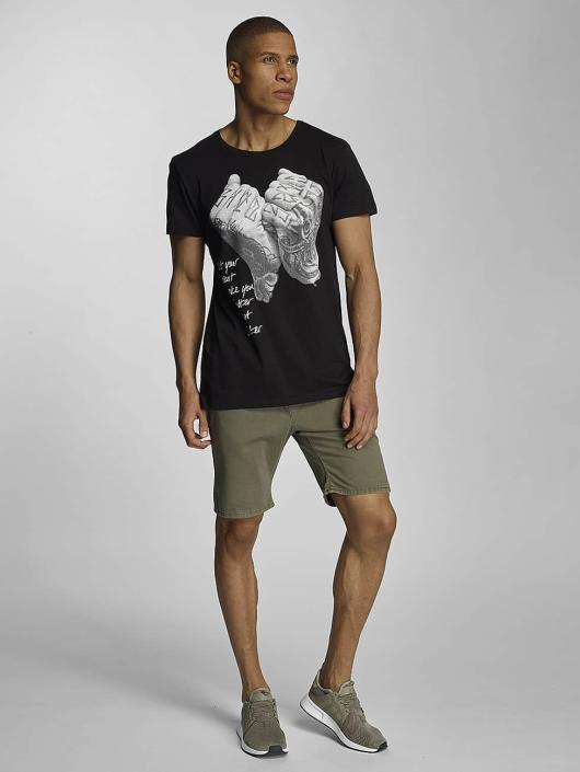 Sky Rebel T-Shirt Davy schwarz