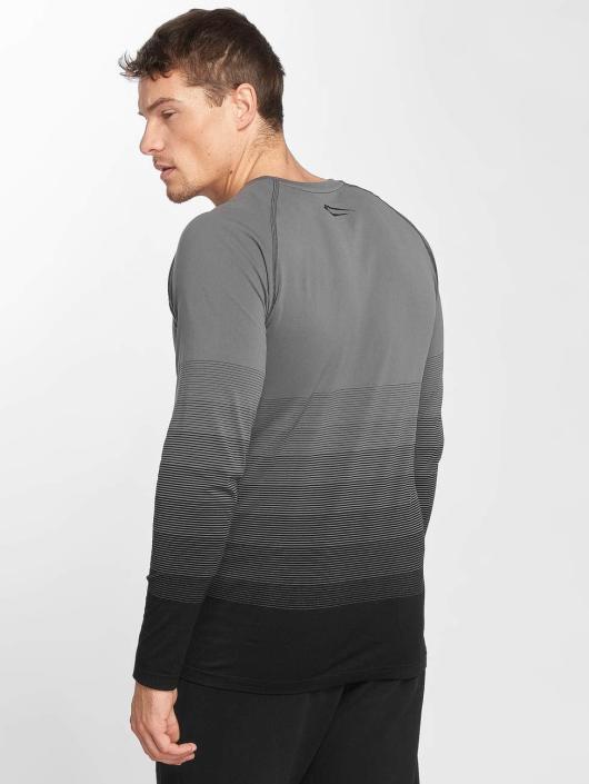 Smilodox Longsleeve Definition Seamless gray