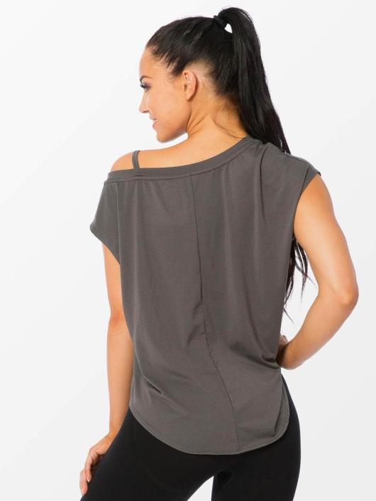 Smilodox T-Shirt Loose grey