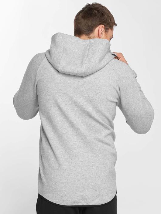 Smilodox Zip Hoodie Result gray
