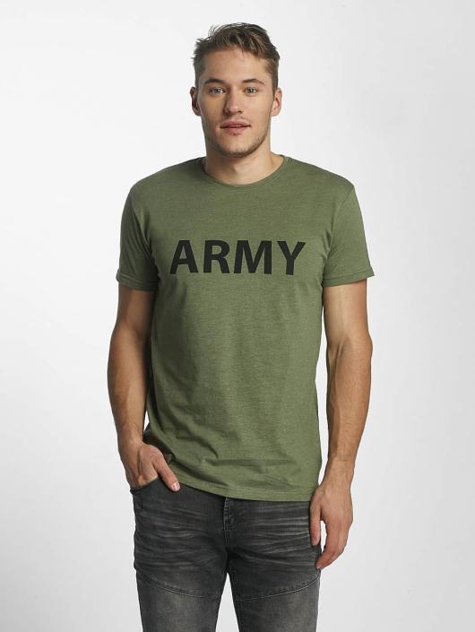 Solid T-paidat Kealan oliivi