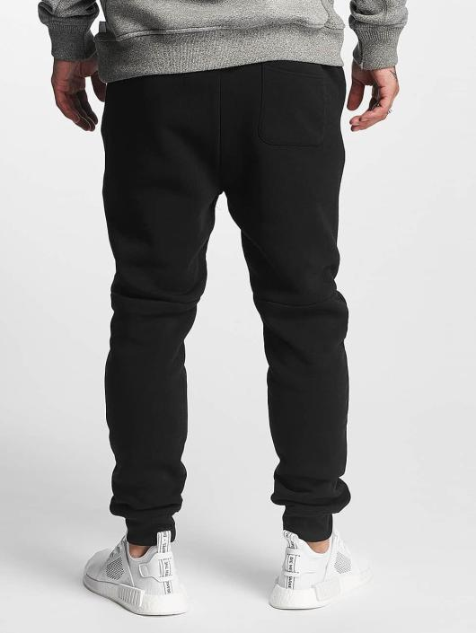 Southpole Jogging kalhoty Fleece čern