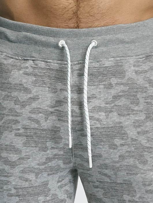 Southpole Jogging kalhoty Camo šedá