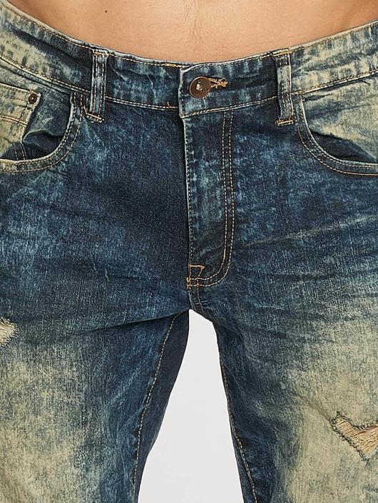Southpole Skinny Jeans Ripped Stretch Denim blue