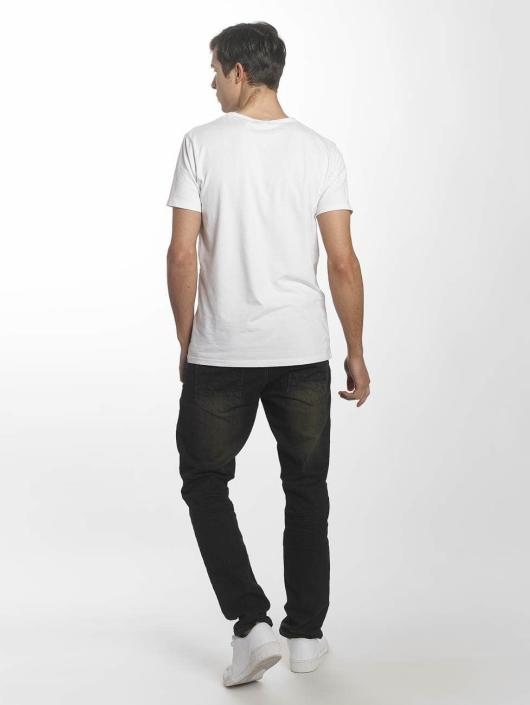 Southpole Skinny Jeans Ripped Stretch Denim czarny