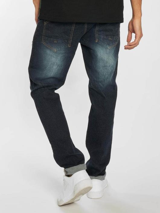Southpole Skinny Jeans Ripped Stretch Denim niebieski