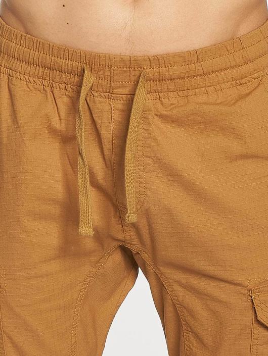 Southpole Spodnie do joggingu Ripstop Stretch Cargo brazowy
