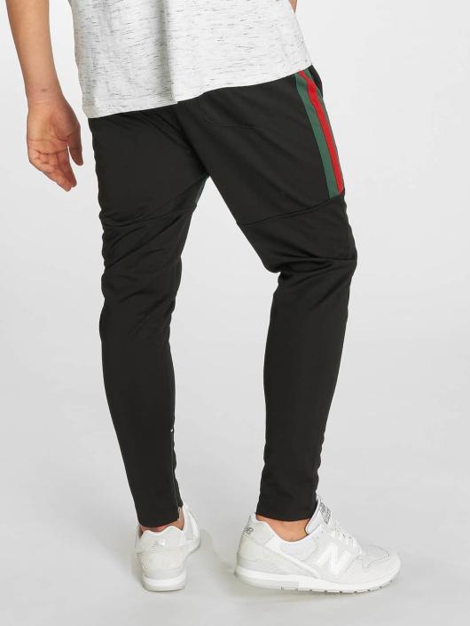 Southpole Spodnie do joggingu Side Taping czarny