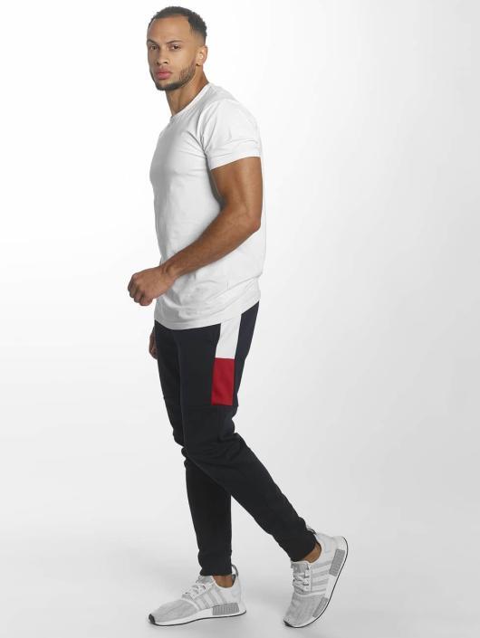 Southpole Spodnie do joggingu Contrast Side Tech niebieski