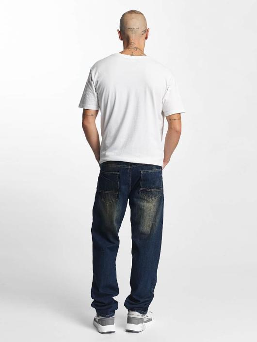 Southpole Straight Fit Jeans Slim modrý