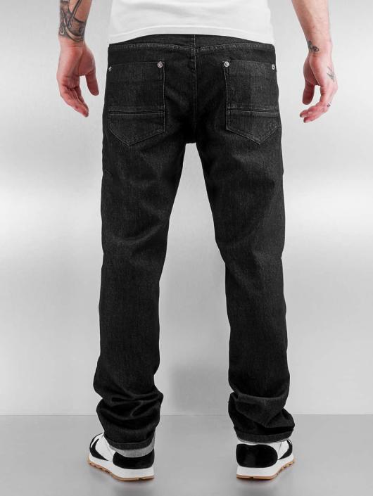 Southpole Straight Fit Jeans Vernon schwarz
