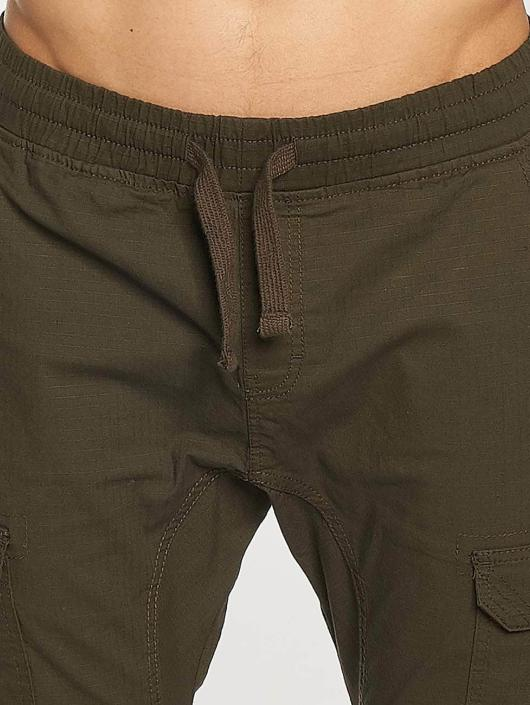 Southpole Sweat Pant Ripstop Stretch Cargo olive