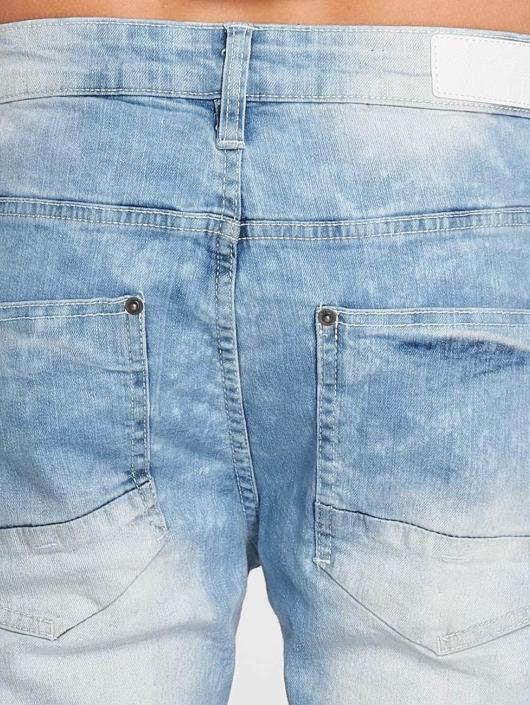 Southpole Szorty Denim Shorts niebieski