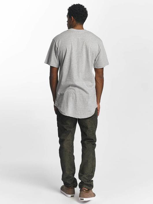 Southpole T-Shirt Badge grau